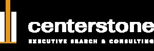 Centerstone Logo - White